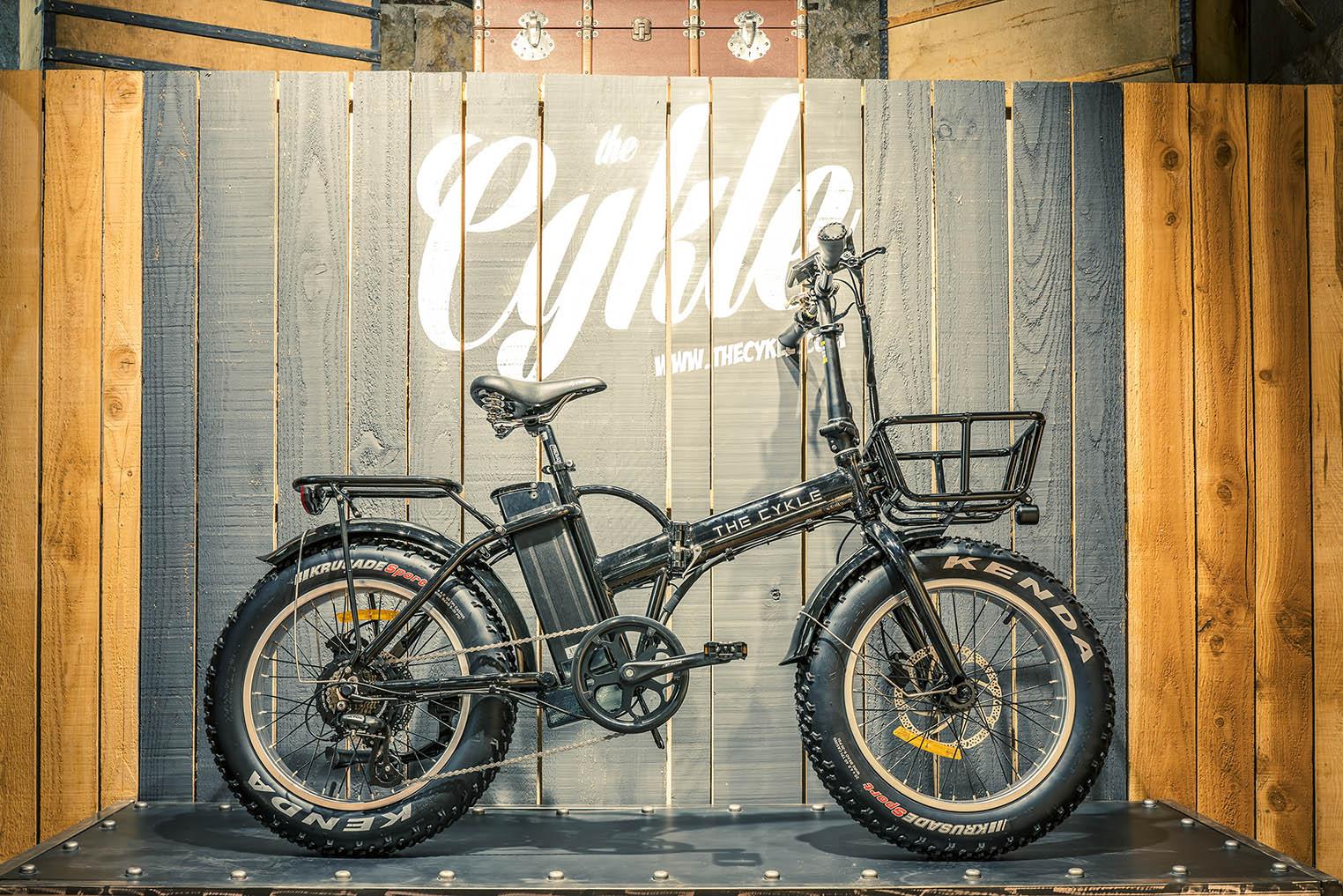 Velo electrique pliant the cykle