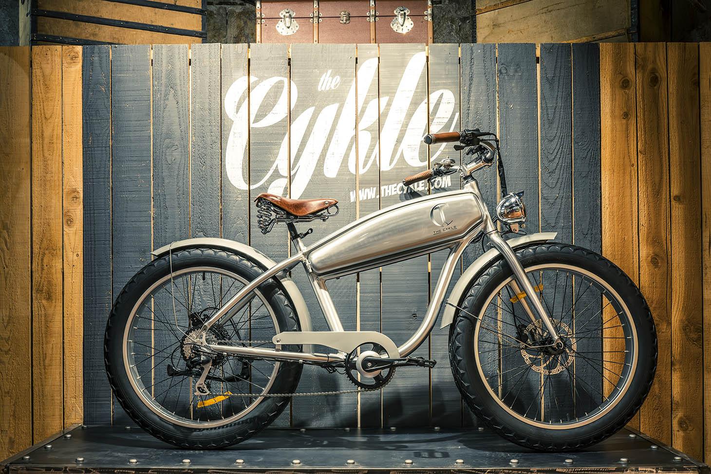 Velo electrique vintage retro the cykle