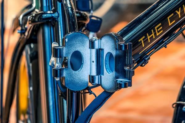 Cadre velo electrique pliant pliable the cykle
