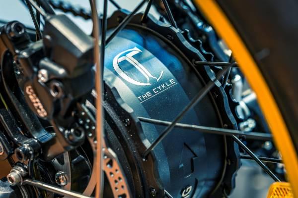 Moteur velo electrique pliant pliable the cykle