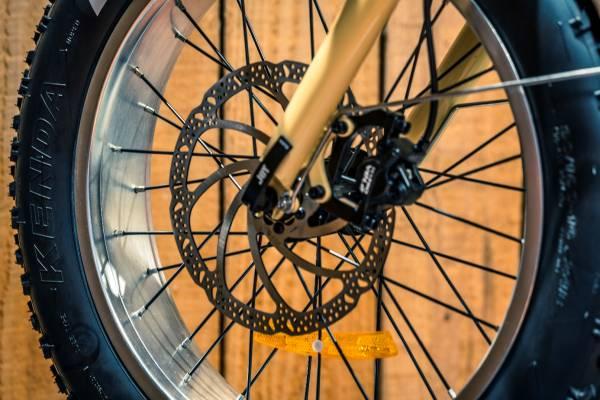 Roue velo electrique pliant pliable the cykle
