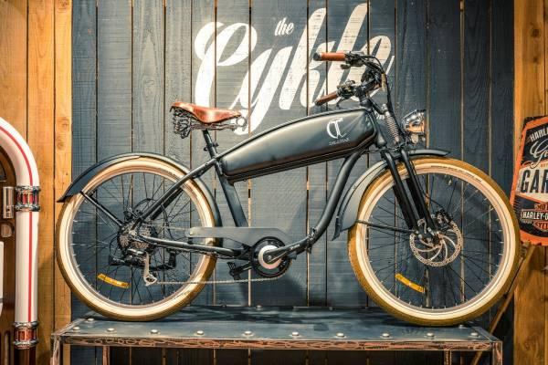 Velo electrique vintage the cykle e-springer
